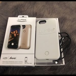 Lumee duo iPhone 7 cell phone case